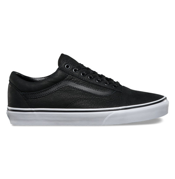 Old White premium Acriminalg Blacktrue Leather Vans Skool Pro dHxqOY