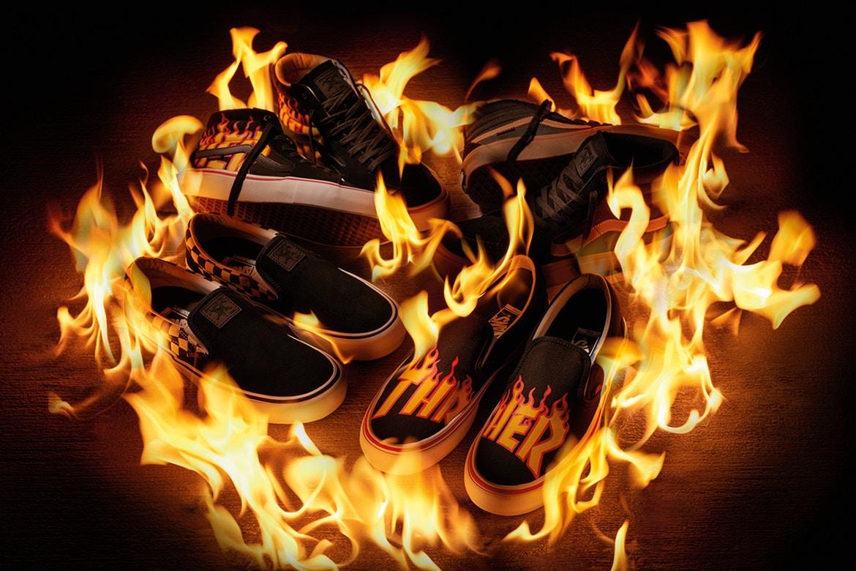 vans x thrasher scarpe