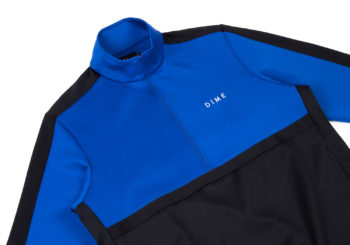 dime-track-jacket-quarter-zip-blue-black-stripe-close-up