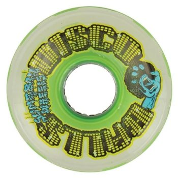 60mm-disco-balls-w-led-and-bearings-disco-balls-green-78a-santa-cruz-skate