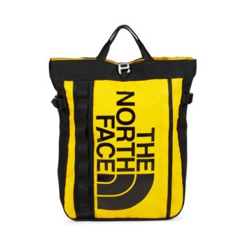 accessori the north face base camp tote bag tnf yellow