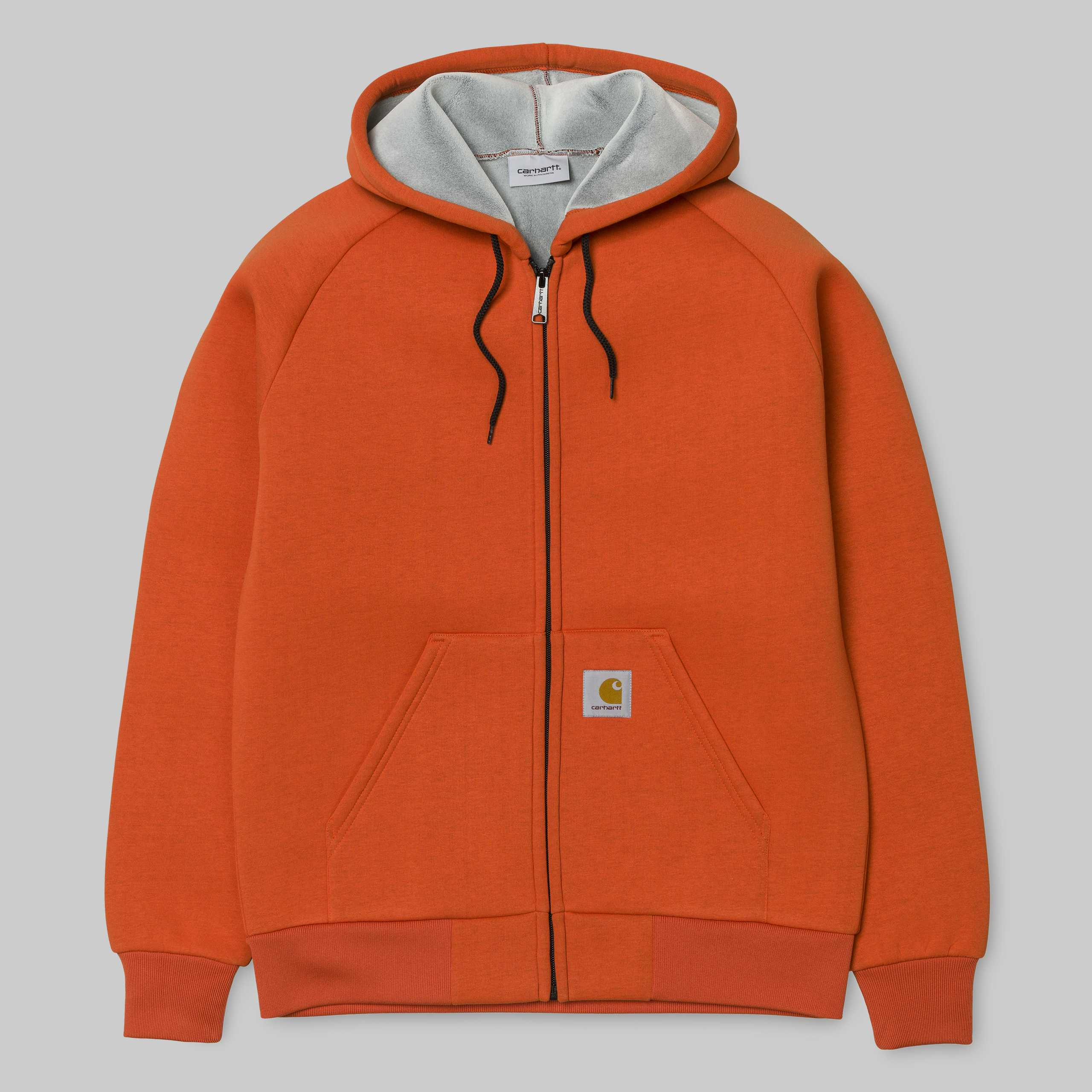 Carhartt Car Lux Hooded Jacket Persimmon Acriminalg