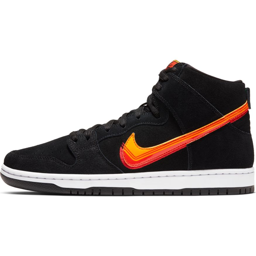Nike SB Dunk High Pro TRUCK Black University Gold