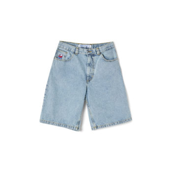 POLAR SKATE CO. - BIG-BOY-SHORTS-LIGHT-BLUE-1